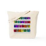 Soap Bottle Rainbow Tote Bag