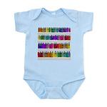 Soap Bottle Rainbow Infant Bodysuit