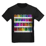 Soap Bottle Rainbow Kids Dark T-Shirt
