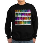 Soap Bottle Rainbow Sweatshirt (dark)