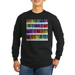 Soap Bottle Rainbow Long Sleeve Dark T-Shirt