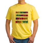 Soap Bottle Rainbow Yellow T-Shirt