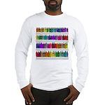 Soap Bottle Rainbow Long Sleeve T-Shirt