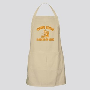 Viking Blood Flows In My Veins Apron