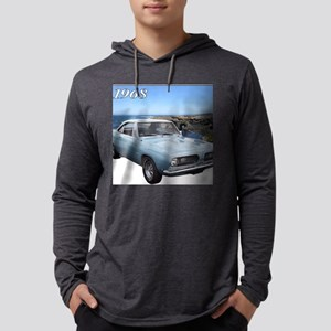 1968barracudaA Mens Hooded Shirt
