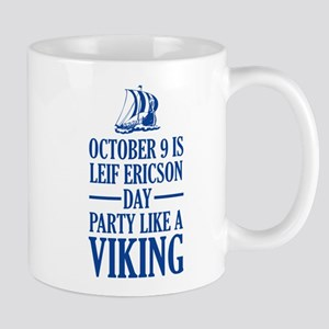 Leif Ericson Day - Party Like A Viking Mug