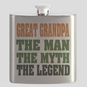 Great Grandpa The Legend Flask