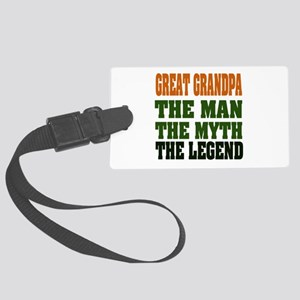 Great Grandpa The Legend Large Luggage Tag