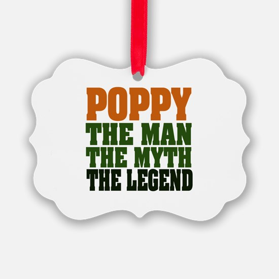 Poppy The Legend Ornament