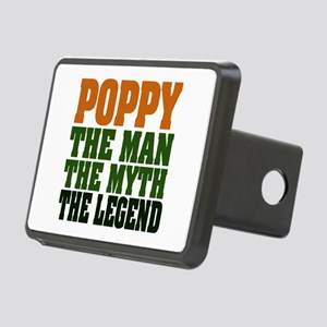 Poppy The Legend Rectangular Hitch Cover