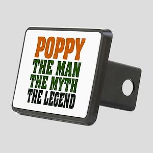 Poppy The Legend Rectangular Hitch Cover