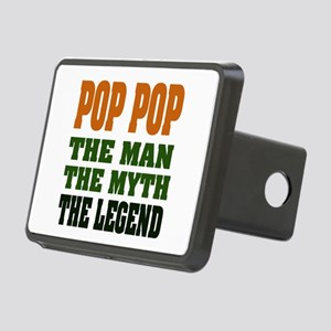 Pop Pop the Legend Rectangular Hitch Cover
