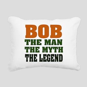 Bob The Legend Rectangular Canvas Pillow