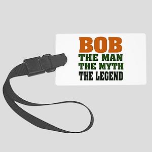 Bob The Legend Large Luggage Tag