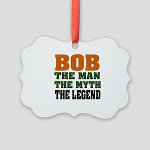 Bob The Legend Picture Ornament