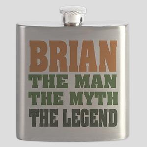 Brian The Legend Flask