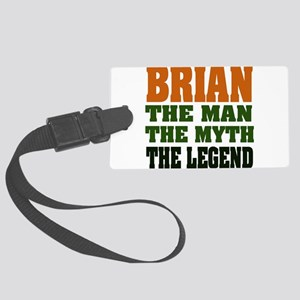 Brian The Legend Large Luggage Tag