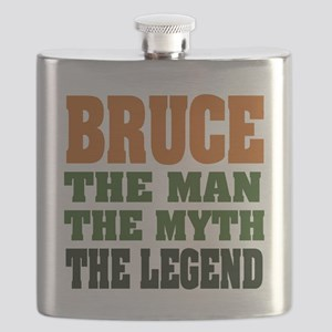 Bruce The Legend Flask