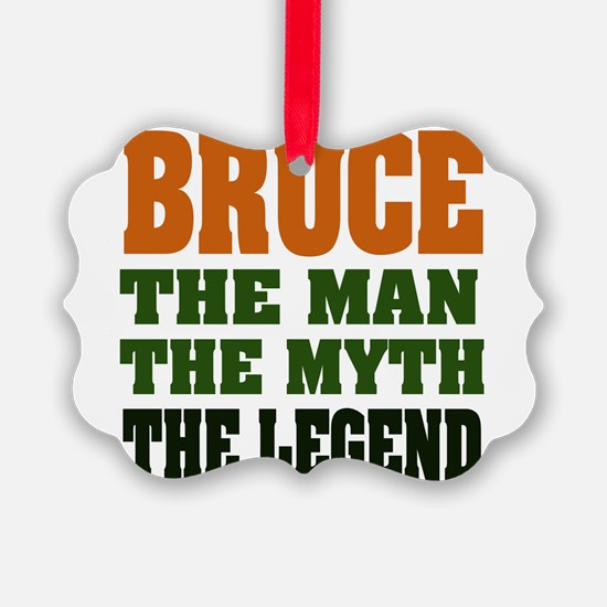 Bruce The Legend Ornament