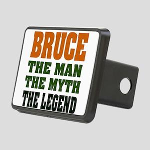 Bruce The Legend Rectangular Hitch Cover
