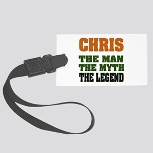 Chris The Legend Large Luggage Tag
