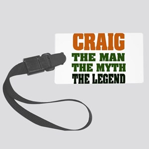 Craig The Legend Large Luggage Tag