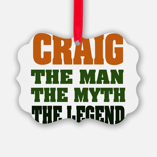 Craig The Legend Ornament