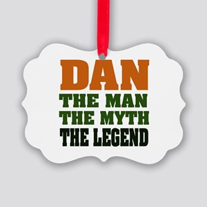 Dan The Legend Picture Ornament