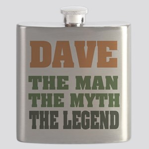 Dave The Legend Flask