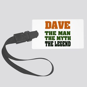 Dave The Legend Large Luggage Tag