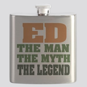 Ed The Legend Flask