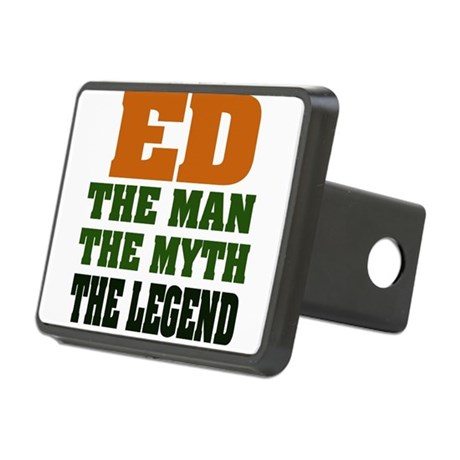 Ed The Legend Rectangular Hitch Cover