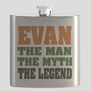 Evan The Legend Flask