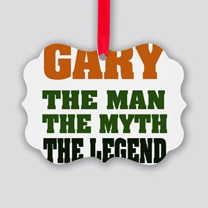 Gary The Legend Picture Ornament