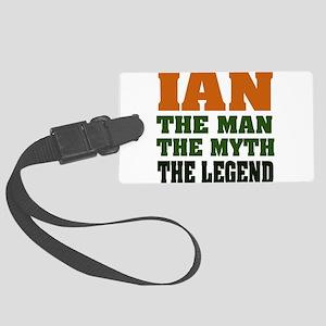 Ian The Legend Large Luggage Tag