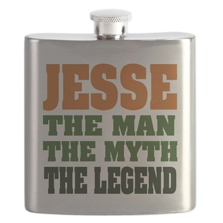 Jesse The Legend Flask