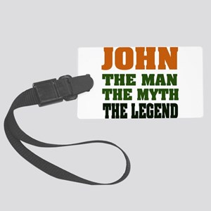 John The Legend Large Luggage Tag