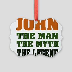 John The Legend Picture Ornament
