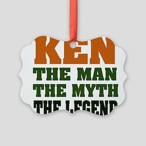 Ken The Legend Picture Ornament