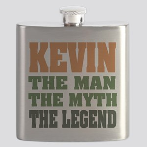 Kevin The Legend Flask