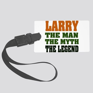 Larry The Legend Large Luggage Tag