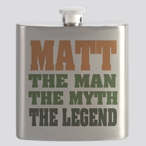 Paul The Legend Flask