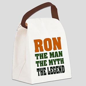 Ron The Legend Canvas Lunch Bag