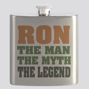 Ron The Legend Flask