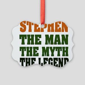 Stephen The Legend Picture Ornament
