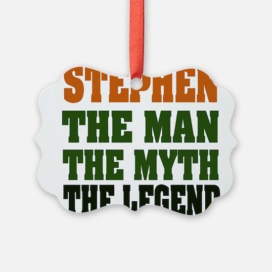 Stephen The Legend Ornament