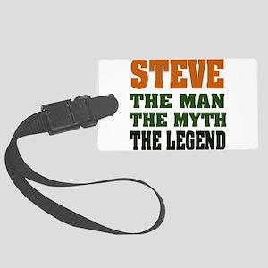 Steve The Legend Large Luggage Tag