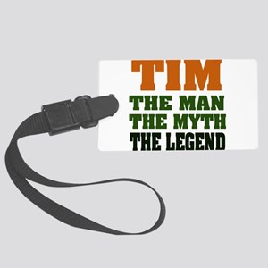 Tim The Legend Large Luggage Tag
