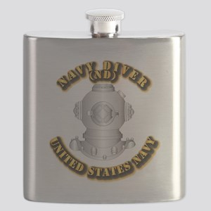 Navy - Rate - ND Flask
