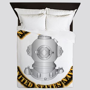 Navy - Rate - ND Queen Duvet